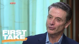First Take analyzes Rick Pitino's exclusive interview with Jay Bilas | First Take | ESPN