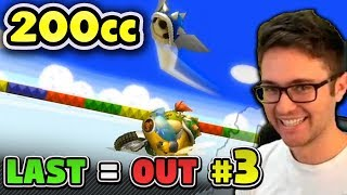Mario Kart Wii 200cc KO - You're LAST, You LOSE! #3