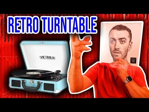 Sam Smith Vinyl tested on A Victrola Bluetooth Record Player.