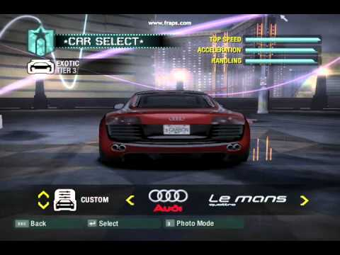 need for speed carbon wii youtube