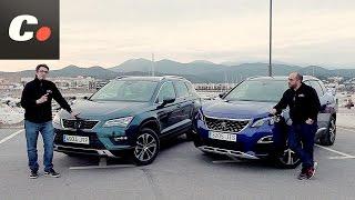 Peugeot 3008 SUV 2017 vs Seat Ateca | Comparativa | Prueba / Test / Review en español | Coches.net