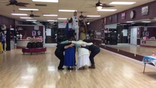 Frozen Christmas Party - Arthur Murray Palm Harbor - In Summer