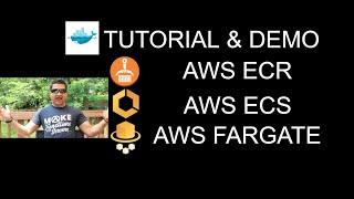 AWS Fargate Tutorial with Demo using ECR and ECS | Run Docker Container on Fargate