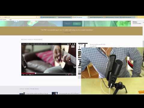 Rhode NT-USB Podcaster Mikrofon / Auspacken und Test