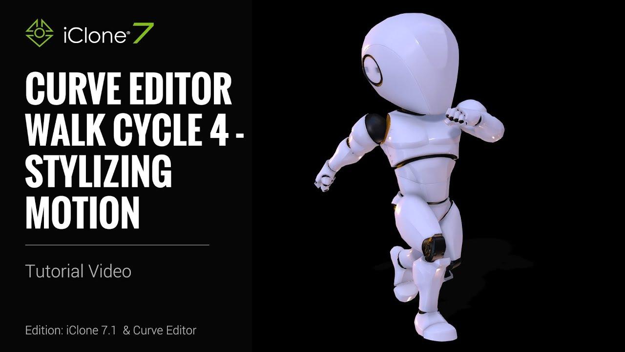SWalk Cycle 4 - Stylizing Motion