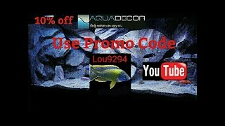 120 African cichlid show tank LED lighting