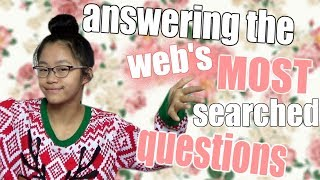 Answering the Web's MOST SEARCHED Questions