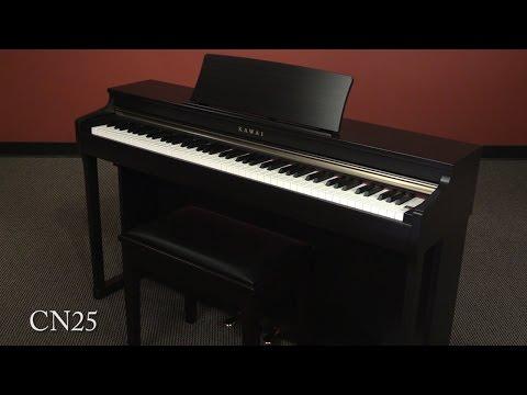 Kawai CN25 Digital Piano Demo