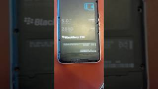 Blackberry Z30 Blinking LEDmine