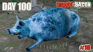 Blood and Bacon прохождение (УБИЙСТВО БОССА) ДЕНЬ 100 (10 серия)