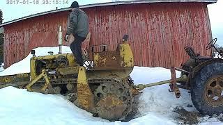 Cat D4C Kylmä Käynnistys starttina Zetor 25 A