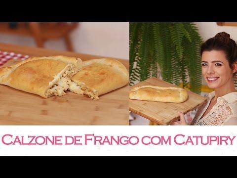 Calzone de Frango com Catupiry