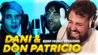 PAPO REACCIONA A BZRP MUSIC SESSIONS: DANI Y DON PATRICIO!
