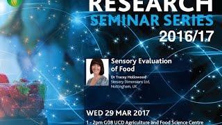 Evaluación sensorial de los alimentos, por Tracey Hollowood