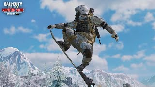 Call of Duty®: Mobile Snowboarding in Battle Royale