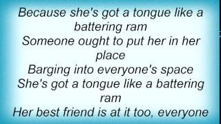 Faction - Tongue Like A Battering Ram Lyrics