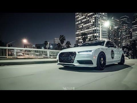 Bagged Audi A7 W/ Ferrada Wheels