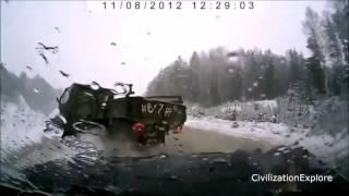 """ЖЕСТЬ Аварии грузовиков 1"""""""