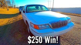 We WON!! $250 Copart 98 Mercury Grand Marquis! Run and Drive?