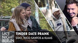 Sido & Klaas helfen heimlich beim ersten Date: Tinder Date Prank | Late Night Berlin | ProSieben