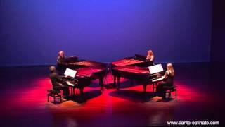 Simeon ten Holt - Canto Ostinato live in Veldhoven 2012 by Piano Ensemble