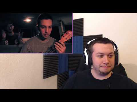 twenty one pilots Can't Help Falling In Love Cover -REACTION- (видео)