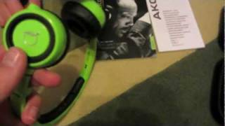 Headphone Kopfhörer AKG Q 460 Unboxing