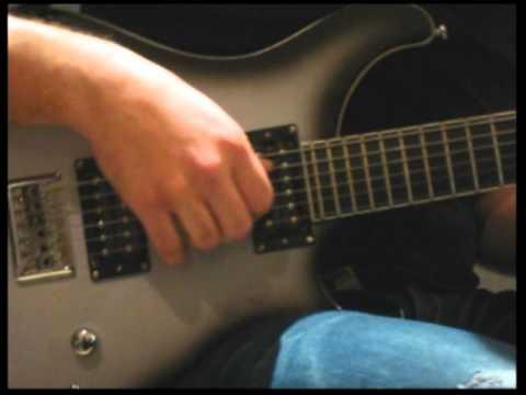 Twin Peaks Theme (on PRS Baritone) Costas Apokides cover-