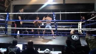 eerste ronde TAG TEAM TOPFIGHTER VS SHAOLIN