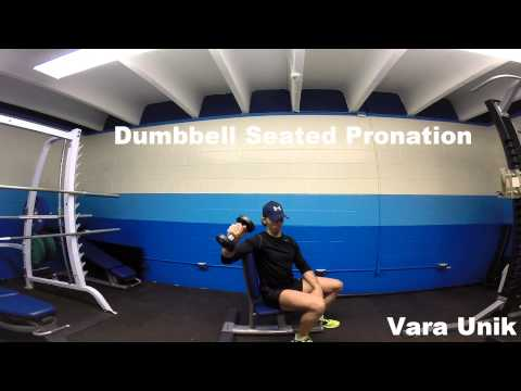 Dumbbell Seated Pronation