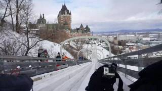 Toboggan Slide Quebec City