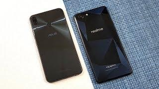 Asus Zenfone 5Z vs Oppo RealMe 1 Speed Test !