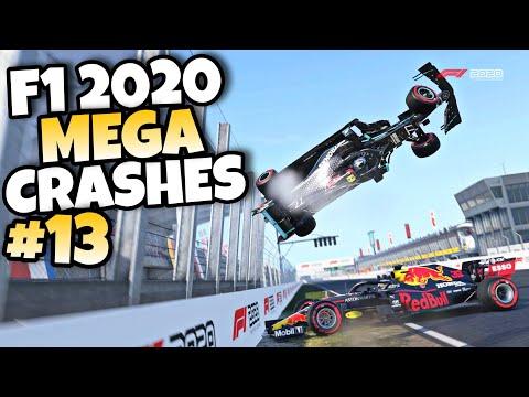 F1 2020 MEGA CRASHES #13