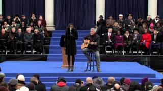 """Imagine"" performed by Patina Miller at NYC 2014 Inauguration"
