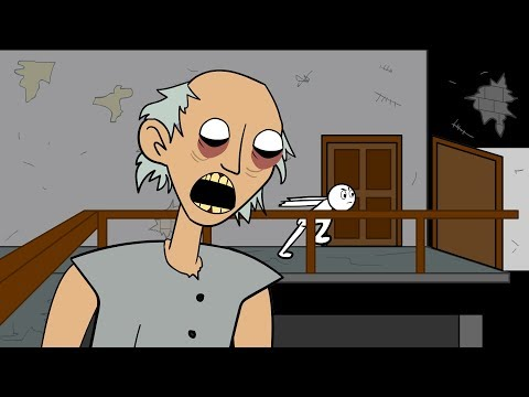 GRANNY THE HORROR GAME ANIMATION _1 : The Scary Granny
