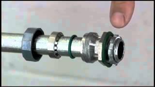 Video Cách lắp đặt ống thép luồn dây điện trong nhà