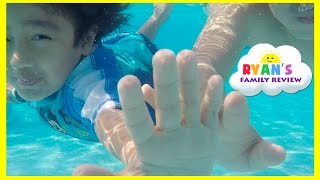 Kid Playtime at the Pool! Family Fun Vacation Disney's Art of Animation Resort Splash Pad for Kids