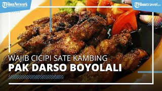 Wajib Cicipi Sate Kambing Legendaris di Boyolali, Kuliner Enak Yang Sudah Ada Sejak 1955