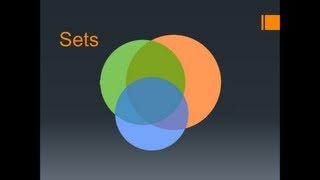 Sets/Set Theory IIT JEE MAINS ADVANCED MATHS - IIT JEE and Board