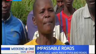 Residents of Kuria East blame authorities for negligence over impassable roads