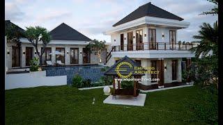Video Desain Villa Style Villa Bali 2 Lantai Ibu Ni Luh di  Ubud, Bali