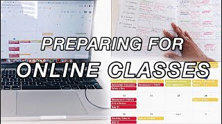How To Prepare For Online College + High school Classes | (8 tips to do BEFORE you start class!)