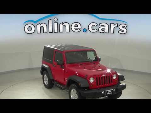 Pre-Owned 2011 Jeep Wrangler Sport