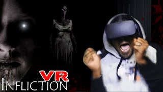 STALKED BY A SPIRIT | Infliction VR [w/ Heart Rate Monitor 133bpm]