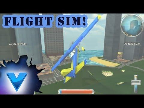 Video of A-plane flight simulator 3D