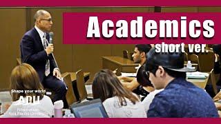 APU 授業紹介 / Academic Life At APU Short Ver 7