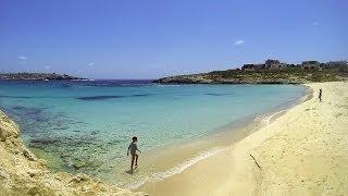 preview picture of video 'Aprile (2014) a Lampedusa - Spiaggia della Guitgia'