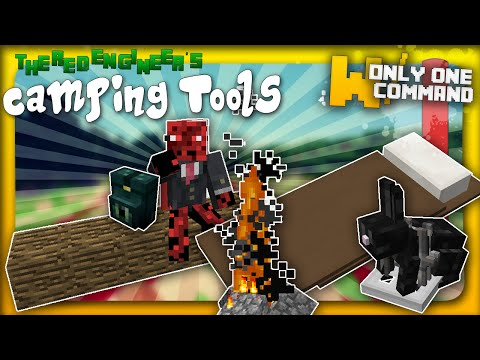 Camping tools with only one command block   Backpacks, bear traps