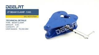 2T Beam Clamp - 5 KG