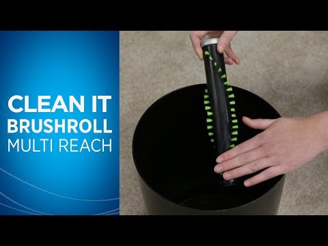 How to Remove and Clean the Brush Roll on Your Multi Reach™ Video